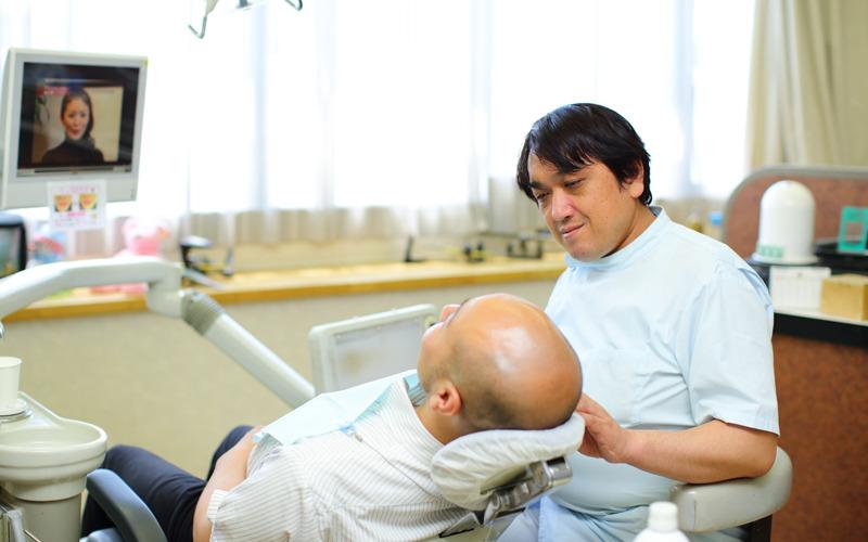 1.しっかり説明をして、患者様に納得して頂いた上で治療を進めていきます。